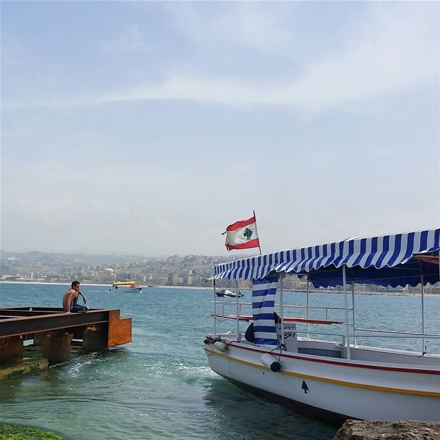 Each day we're given an opportunity to put our boat in the water. Take it!... (Saïda, Al Janub, Lebanon)