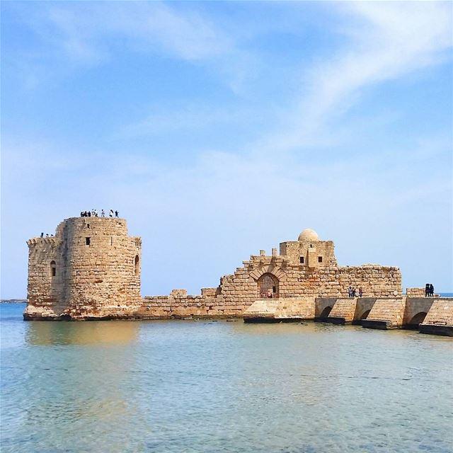 Live Love Saida @livelove.saida livelovebeirut wearelebanon... (Saida The Sea Castle)