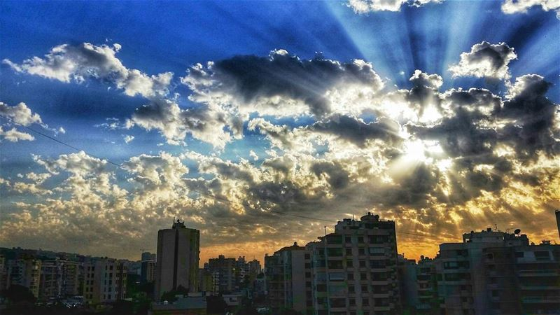 The sun never stops shining, sometimes you just have to look beyond the... (Zalka)