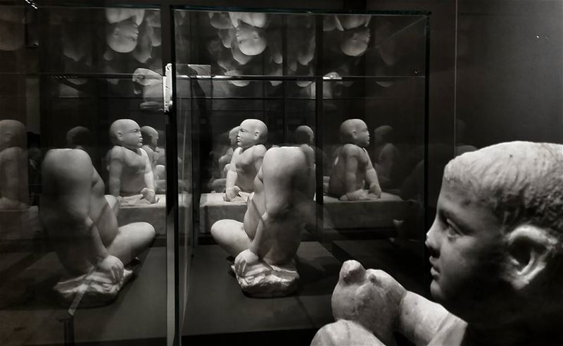 Everyone and everything that shows up in our life is a reflection of... (National Museum of Beirut)