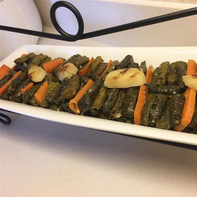lebanon lebanesefood vineleaves wara23enab vegetables like4like ...