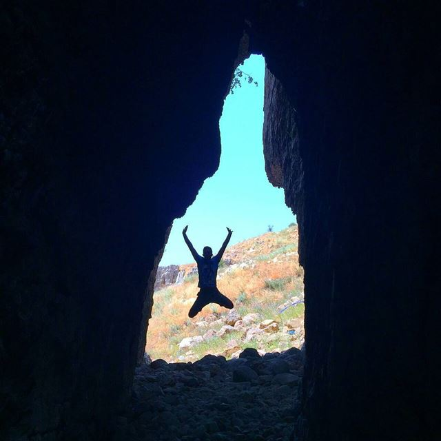 The frame of the cave leads to the frame of man.Kfardebian Natural...