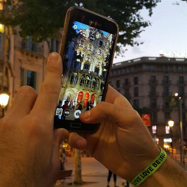 Collect Moments not things(Casa Batllo by Autoni Gaudi Barcelona)...