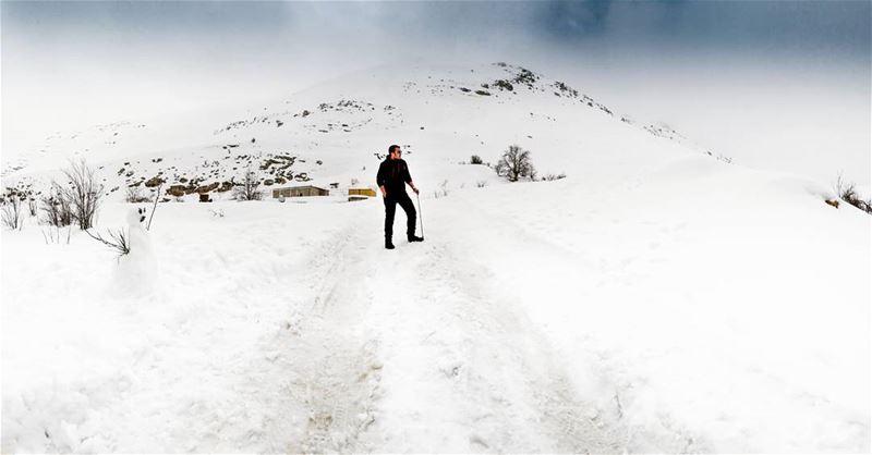 Lebanon Sannin Mountain Snow White ...