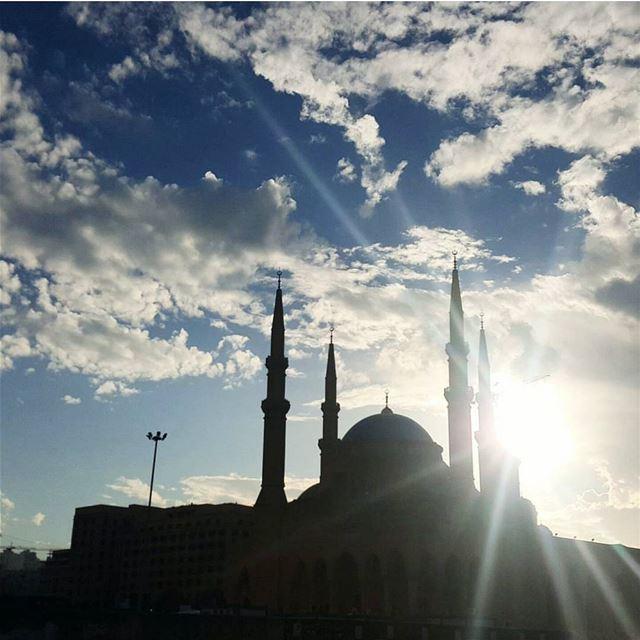رمضان كريم Lebanon Beirut Morning Monday Ramadan Sky Clouds ...