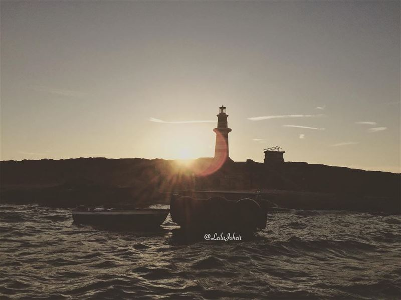 The three S...sun...sea...sunday... ⚓️ sundayfunday lebanontimes ... (Sidon, Lebanon)