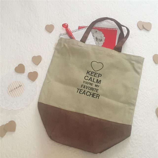 keep calm ❤️ we love you. Teacher s day gift idea✌🏻Write it on fabric by...