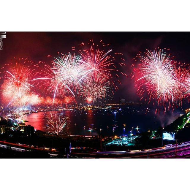 JIF2015 jouniehfestival ILoveJounieh jounieh fireworks show ...