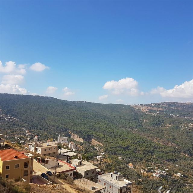 Have a blessed Friday  autumn  magic  beauty  jezzine  colours  sky  trees...