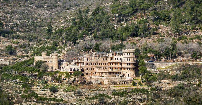 LEBANON 🇱🇧📷 - Moussa Castle••••• Lebanon SeriesOfTee ... (Chouf)
