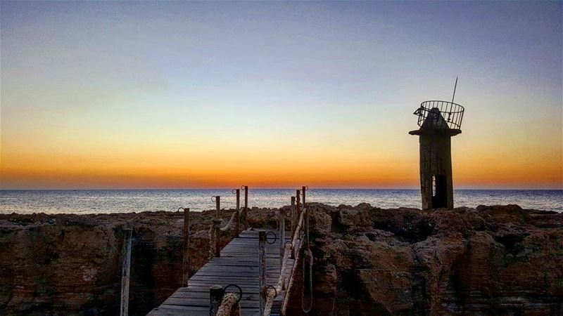 Every sunset is an opportunity to reset 🌅 sundayride sunset ... (Mina-batroun)