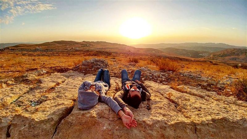 OneLife OneLove inked livelovelebanon sundaybelike sunset ... (Bakish - El Salib)