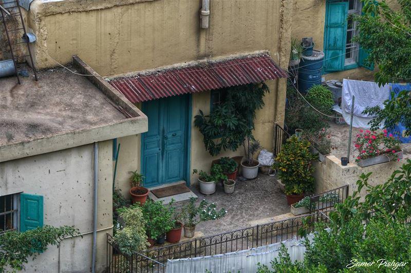 A balcony.. Mseitbeh - Beirut...