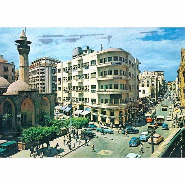 بيروت شارع ويغان عام ١٩٦٣ ،