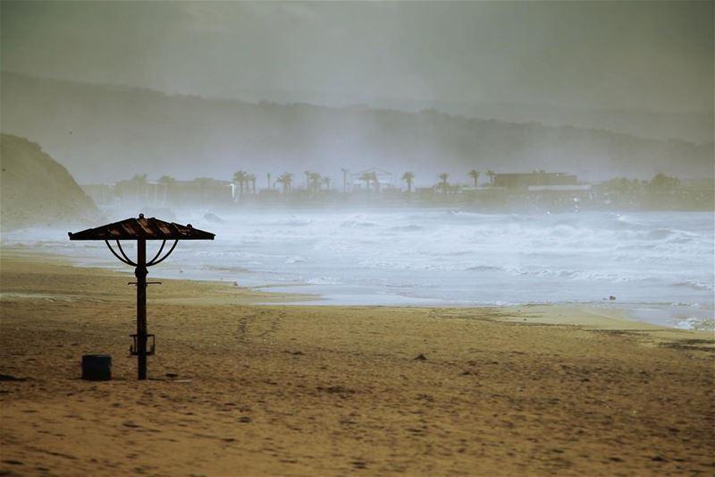 This weather.. lebanon lebanon_hdr ig_lebanon insta_lebanon ... (Ramlet Al Bayda Public Beach)