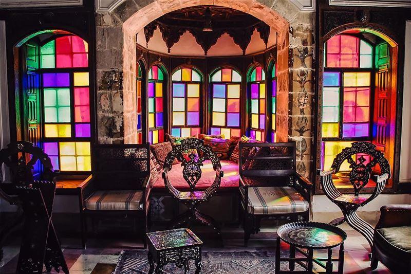 Colors lebanon lebanon_hdr ig_lebanon insta_lebanon wearelebanon ... (Beiteddine Palace)