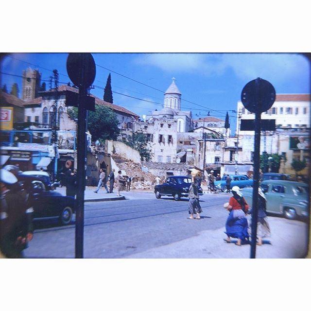 بيروت رياض الصلح عام ١٩٥٤ ،