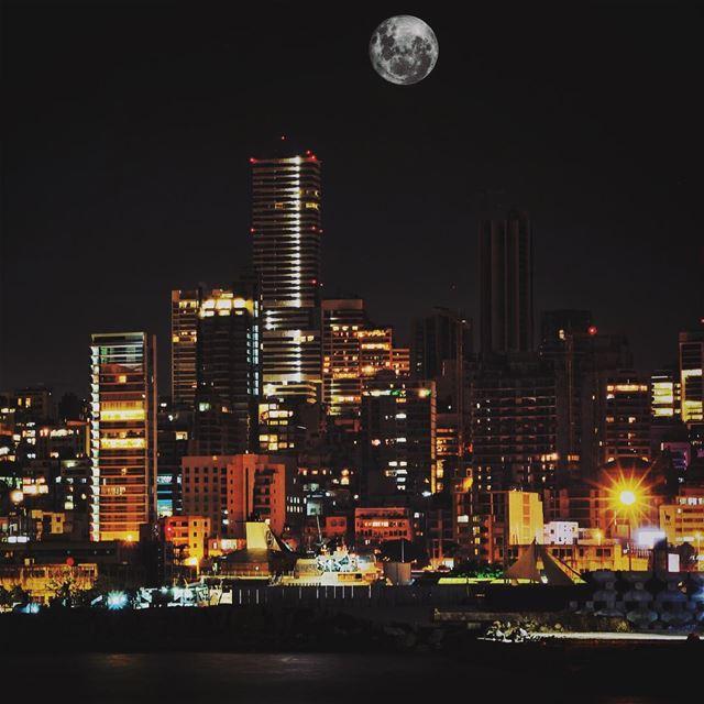Full Moon... lebanon lebanon_hdr ig_lebanon insta_lebanon ...