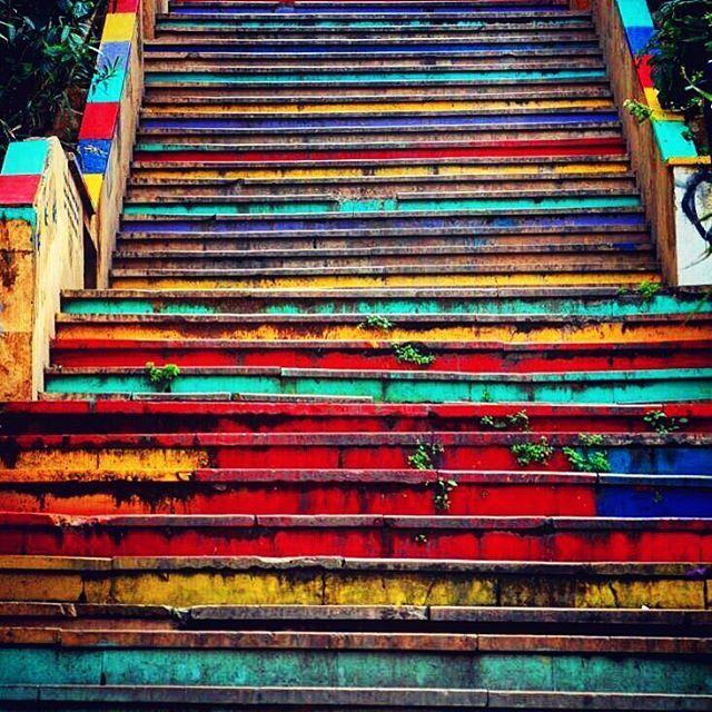 Stairs.. lebanon lebanon_hdr ig_lebanon insta_lebanon wearelebanon ... (Mar Mkhayel)