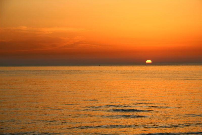 The sunset perfection... lebanon lebanon_hdr ig_lebanon insta_lebanon... (الرملة البيضاء)