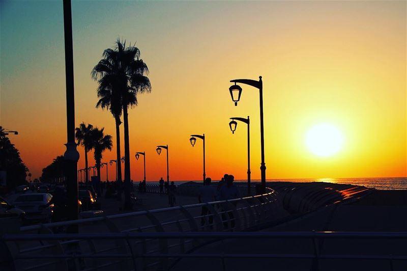 sunset... lebanon lebanon_hdr ig_lebanon insta_lebanon wearelebanon ... (Beirut, Lebanon)