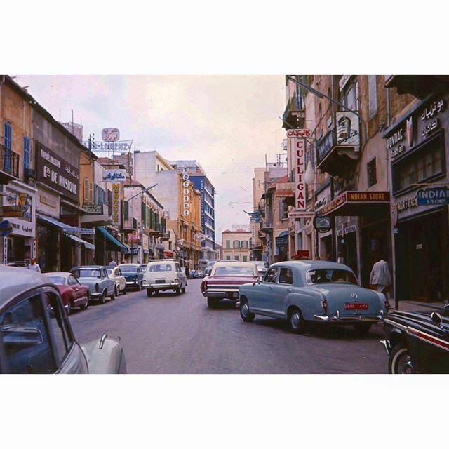 "Beirut ""Tripoli Street"" In 1963 ,"