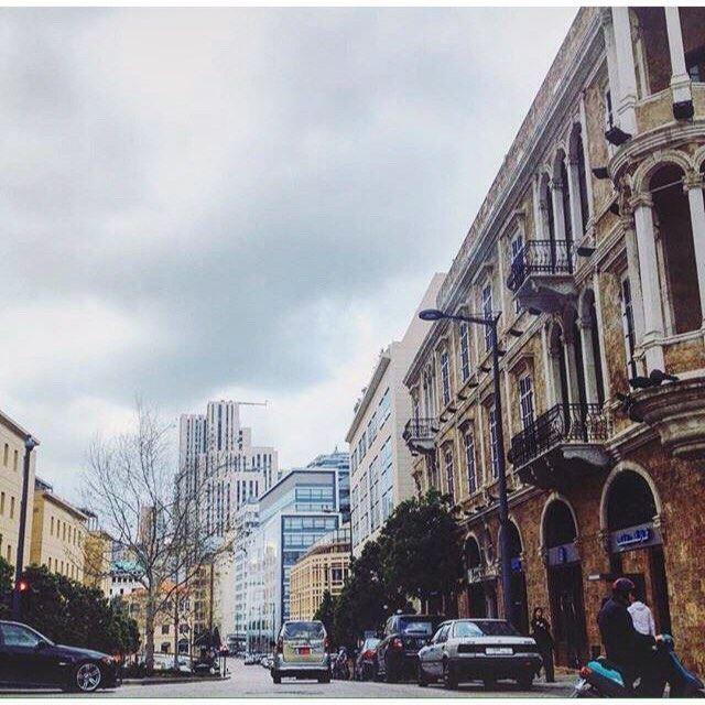 وسط بيروت ،