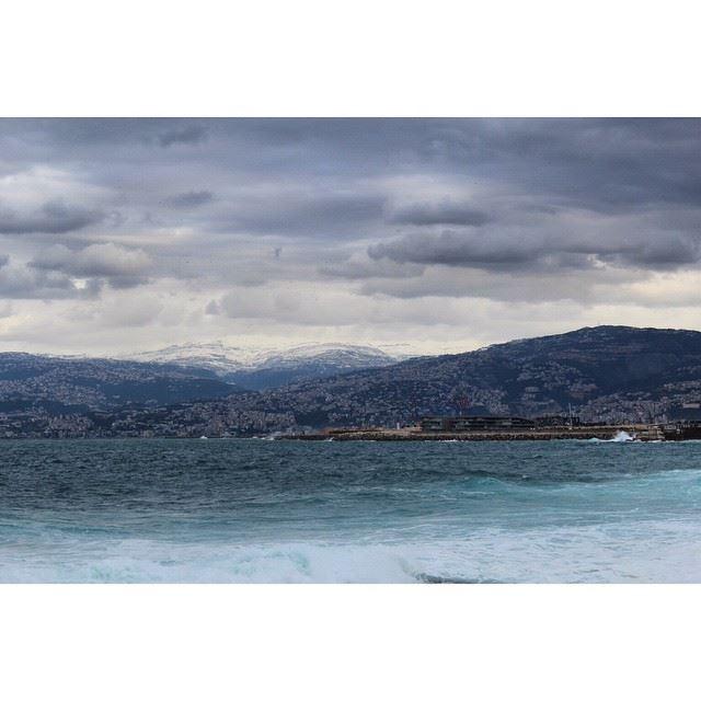 InstaSize lebanon beirut stormzeina zina zeina landscape snow ...