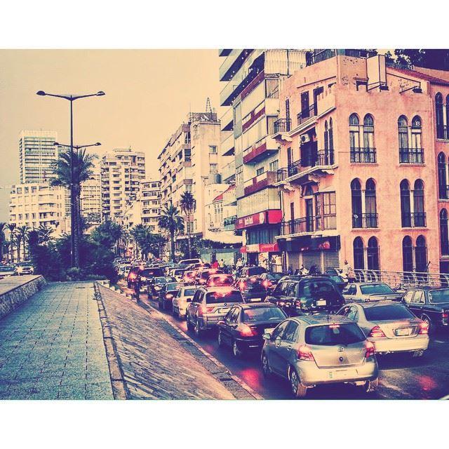 traffic every where i go in beirut oh lebanon cars wearelebanon ...