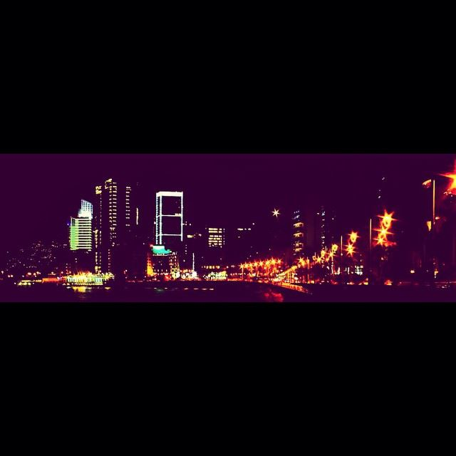 This is not paris this is Beirut lebanon photography nights lights ...