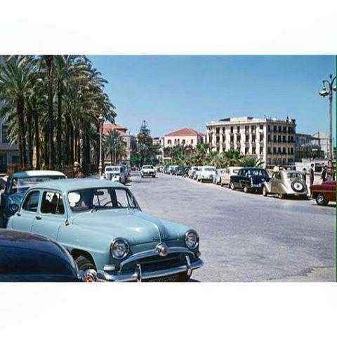 بيروت عام ١٩٥٦ ،