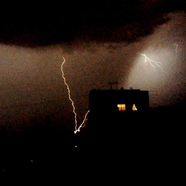 No sleeping tonight thunder beirut lebanon weather ...