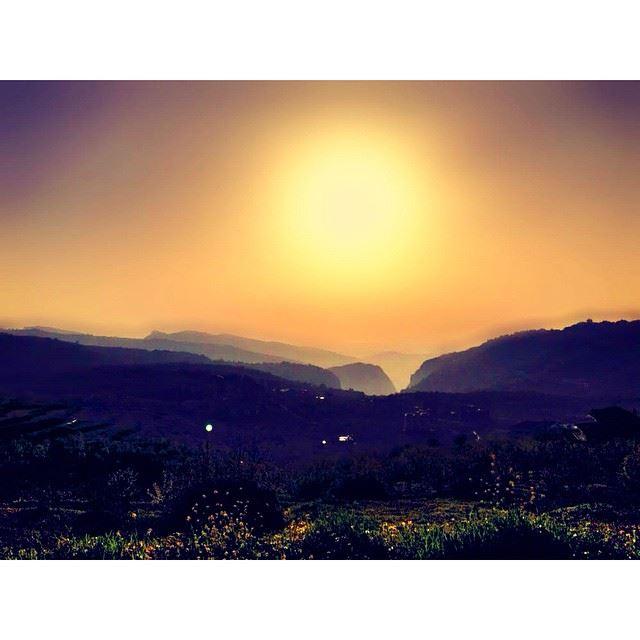 InstaSize ehden lebanon ilovelebanon livelovelebanon sunset ...