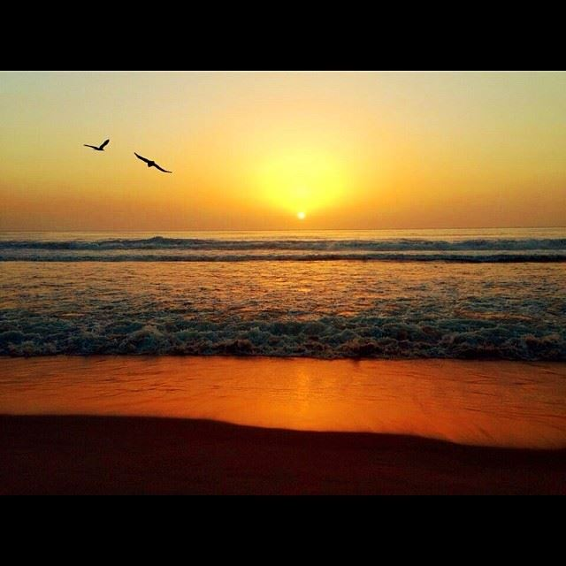 sunset lebanon ...