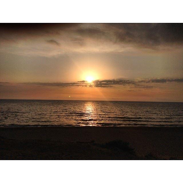 sunset beirut ...