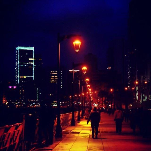 beirut @ night ...