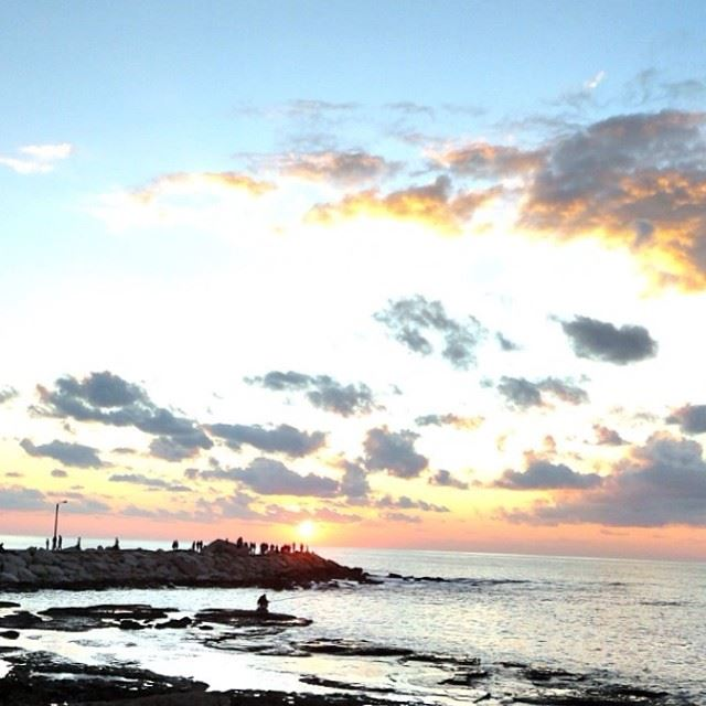 sunset in byblos ...