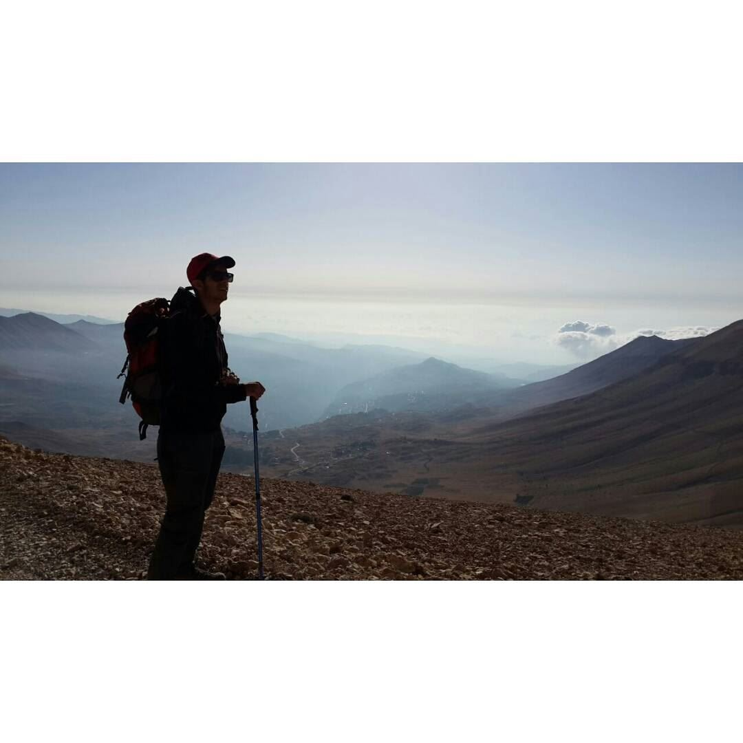 Hiking ✌😎😎From Dahr el Qadib (2995 m) to Qorne el Sawda (3088 m ) (Black Peak)