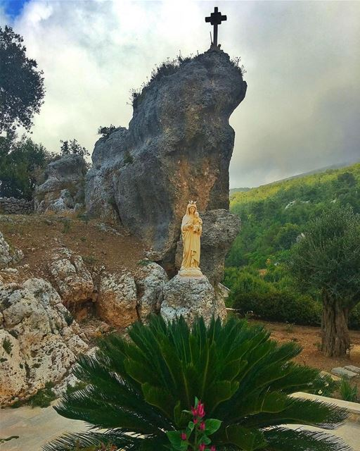 """ No Caption Needed..."" whatsuplebanon insta_lebanon livelovebeirut... (Saint Rafka Ayto)"