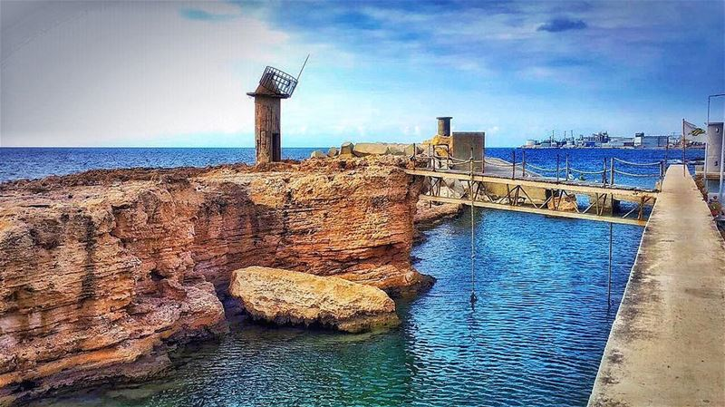 """ Hold My Hand To Pass The Bridge Together..."" whatsuplebanon... (Mina-batroun)"