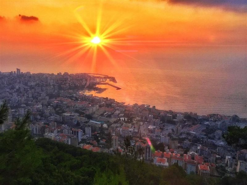 """"""" The Best View Comes After The Hardest Climb..."""" whatsuplebanon... (Jounieh - Lebanon)"""