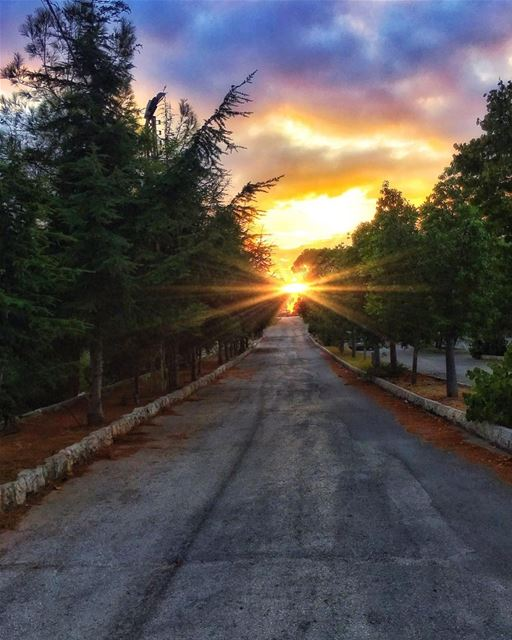 """"""" The Road To Your Dreams Is A Sunset Away..."""" whatsuplebanon... (Batroûn)"""