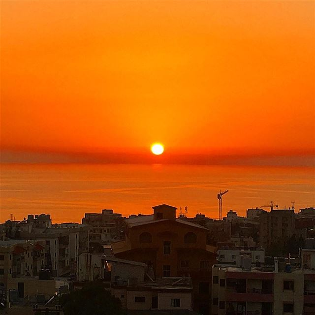 """ The Perfect Sunset..."" wearelebanon whatsuplebanon batrounfestival... (Batroûn)"