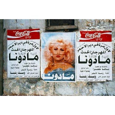 """Beirut 1994 """"Madonna"""" ,"""