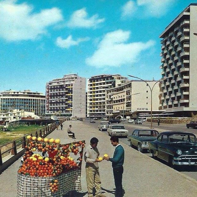 good morning archive beirut lebanon raouche 1967 instapic instalike...