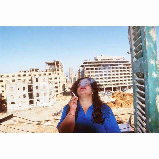 وسط بيروت ١٩٩٦،