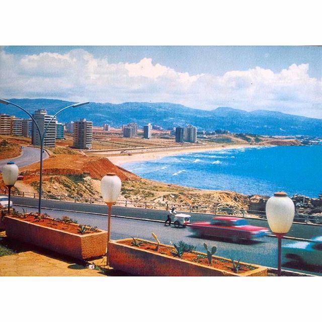 بيروت الرملة البيضاء ١٩٧٢،
