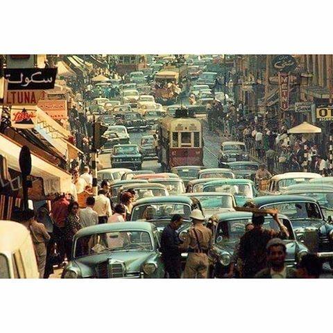 بيروت شارع ويغان ١٩٦٤،