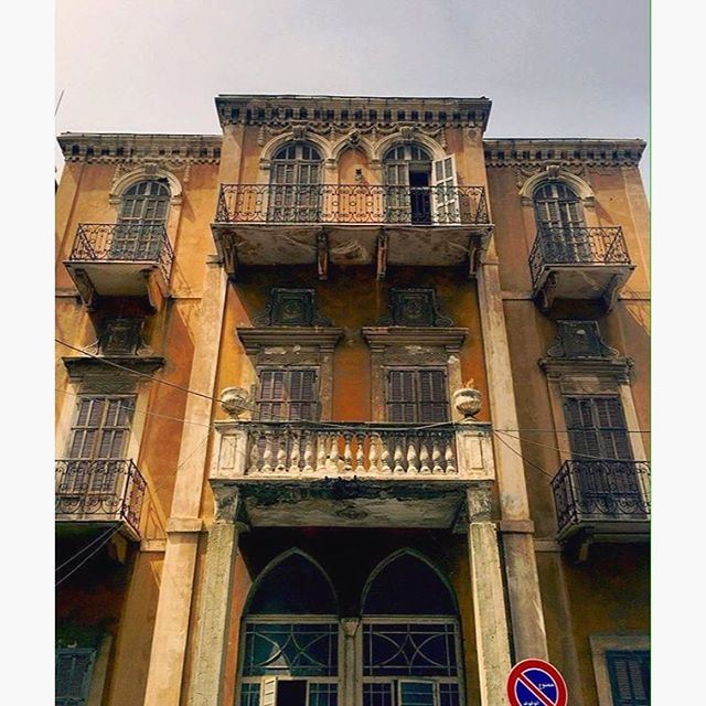 Beirut OldBuilding ,