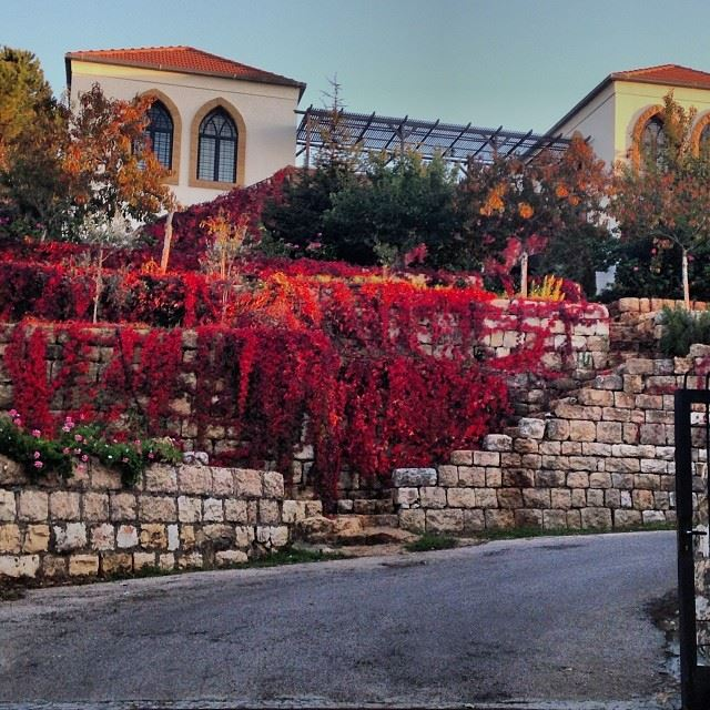 lebanese lebanon house trdition photography art autum sunset red blue...